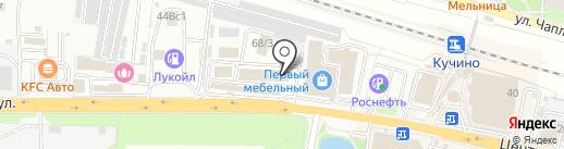Каро на карте Балашихи