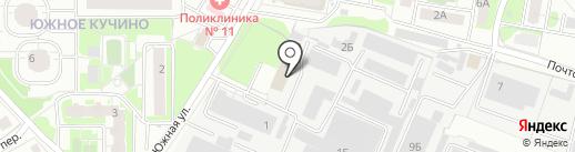 АЕ Групп на карте Балашихи