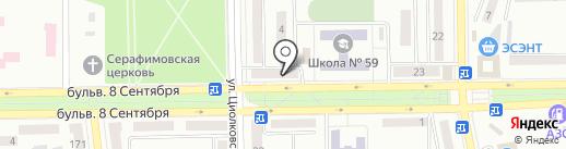 Церковный отдел на карте Макеевки