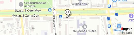 Диана на карте Макеевки