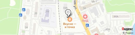 АЗС Shell на карте Балашихи