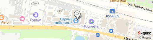 ЛАДЬЯ на карте Балашихи