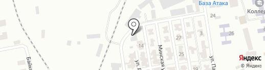 Чиста Водиця на карте Макеевки