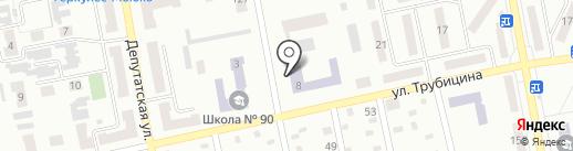 Макеевский педагогический колледж на карте Макеевки