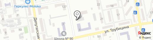 Макеевское педагогическое училище на карте Макеевки