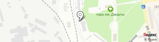 Региональные электрические сети на карте Макеевки