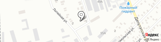 Банкомат, Энергобанк, ПАО на карте Макеевки
