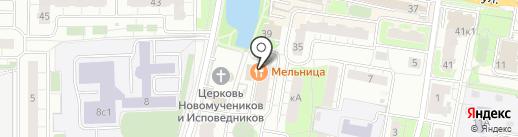 Алибаба на карте Балашихи