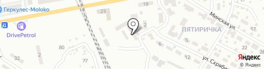Автомастер на карте Макеевки