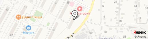 Володарская амбулатория на карте Володарского
