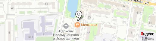 Смоленский трикотаж на карте Балашихи