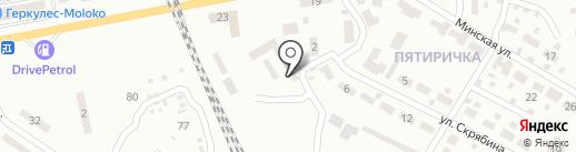 Автомастер, СТО на карте Макеевки
