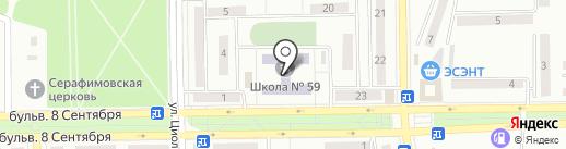 Макеевская общеобразовательная школа I-III ступеней №59 на карте Макеевки