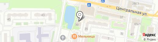 Altis gym на карте Балашихи