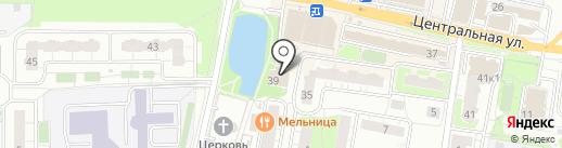 Altis gym на карте Железнодорожного