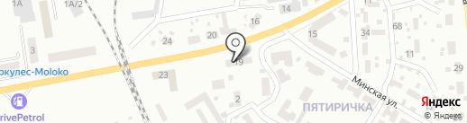 Продовольственный магазин на проспекте 250 лет Донбасса на карте Макеевки