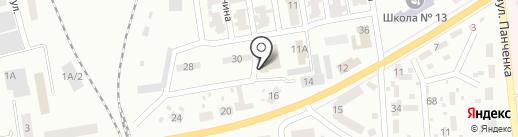 Чемпион, тренажерный зал на карте Макеевки