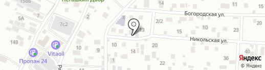 101 далматинец на карте Балашихи