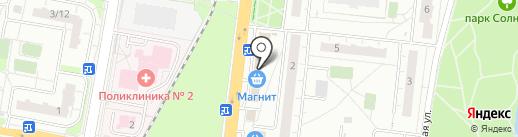 Мастерская по ремонту одежды на Звёздной на карте Балашихи
