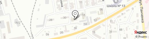 Макеевское общество глухих на карте Макеевки