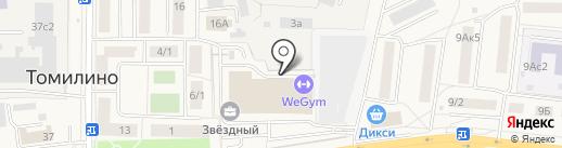 WeGym на карте Томилино