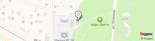 Средняя общеобразовательная школа №14 на карте Томилино