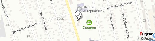 Крамниця на карте Макеевки