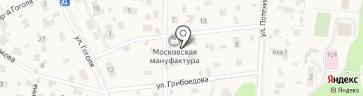Гирудо-Мед на карте Томилино