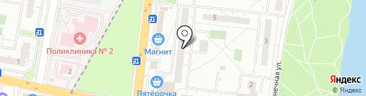 Пятерочка на карте Балашихи
