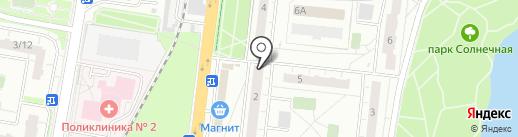 Магазин по продаже фруктов и овощей на карте Балашихи