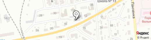 Центрально-Городской районный отдел Макеевского городского управления МВД на карте Макеевки