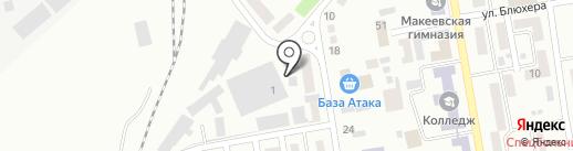 VIANOR на карте Макеевки