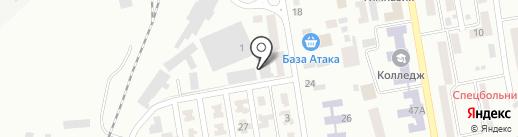 Чайкино на карте Макеевки
