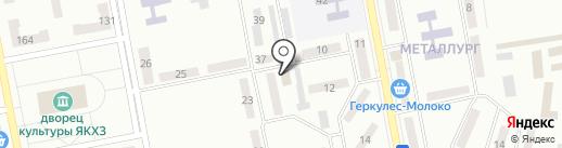 Амбар на карте Макеевки