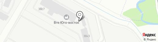 ВТЕ ЮГО-ВОСТОК на карте Некрасовки