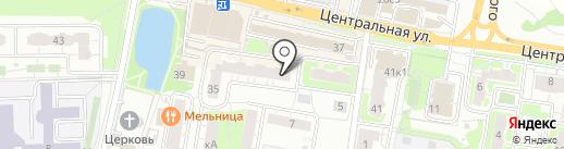 На Центральной на карте Балашихи