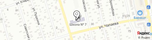 Макеевская общеобразовательная школа I-III ступеней №7 на карте Макеевки