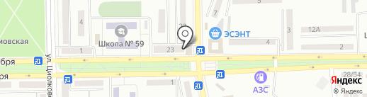 Хозяйственный переулок на карте Макеевки