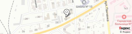 Центрально-Городской районный отдел Макеевского городского управления ГУМВД Украины в Донецкой области на карте Макеевки