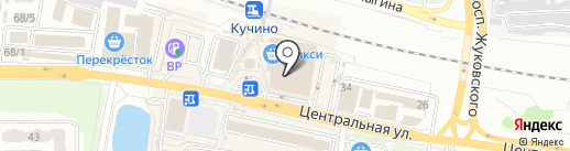 Модистка на карте Железнодорожного