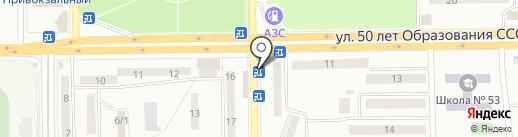 Советский хлебокомбинат на карте Макеевки