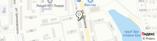 Призма на карте Макеевки