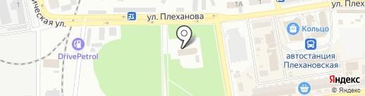 Библейская церковь Украины на карте Макеевки