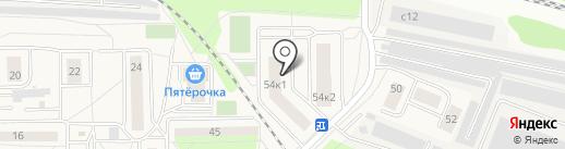 Гоголя-2 на карте Томилино