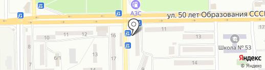 Мастерская по ремонту одежды и чистке подушек на карте Макеевки
