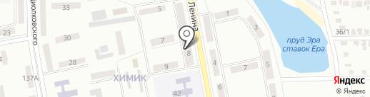 Аквамастер на карте Макеевки