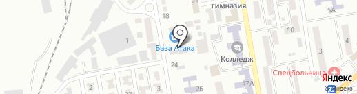 Атака на карте Макеевки