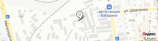 Большой Дом на карте Макеевки
