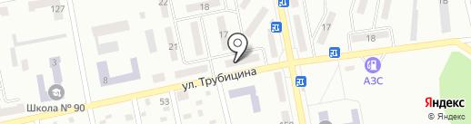 Центральный Республиканский Банк, ОГУ на карте Макеевки