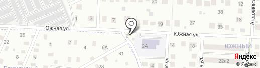 На Южной на карте Ивантеевки